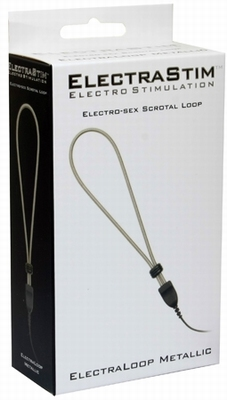 ElectraStim Elektroseks, Metallic Adjustable Scrotal Loop