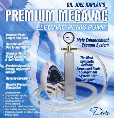 Dr. Joel Kaplan's electrische Megavac Penispomp