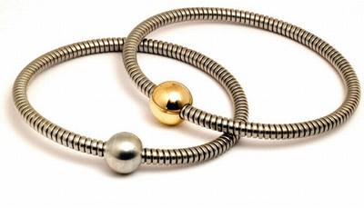 Halsband uit flexibel RVS
