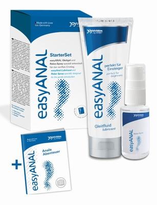 EasyAnal starter set met spray en anaal glijmiddel