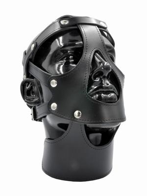 Lederen gezichtsharnas, one size fits mosrt