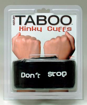 TABOO Kinky Cuffs - Don't Stop