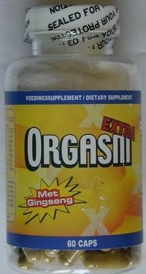 Orgasm met Ginseng, 60 capsules, flatpack