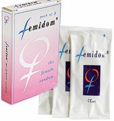 Femidom vrouwen condoom, 3 stuks