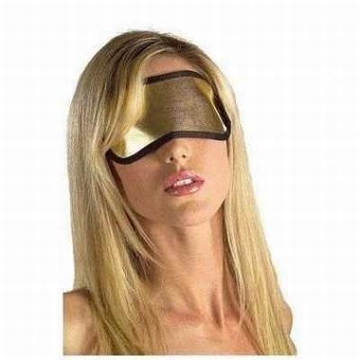 Blinddoek, goudkleurig