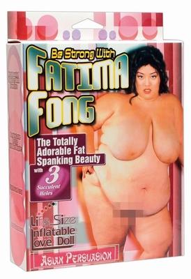 Fatima Fong, de lekkere curvy Sexpop