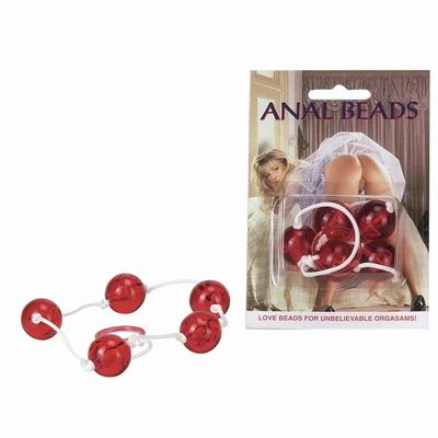 Doorzichtige anaal ballen, 2 cm