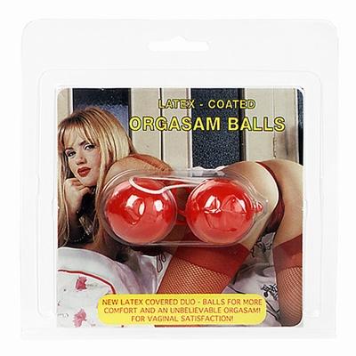 Latex lustballen Rood