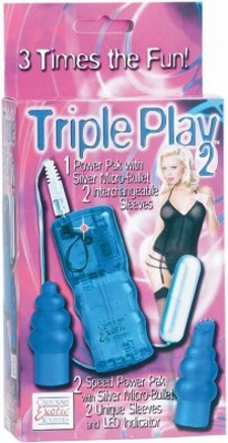 California Exoctic Triple Play 2 Massager