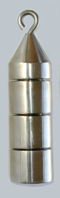 Gewichten toren, 100 gram (4 x 25 gram), per stuk