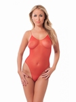 Bodystocking, rood, one size fits most