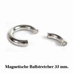 Ballstretcher, rond en magnetisch, 33 mm diameter