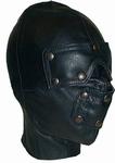 Slaven masker met verwijderbare oog en mondstukken.