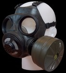 Deens gasmasker met filter