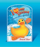 I Rub my Duckie badeend Travel size vibrator, geel