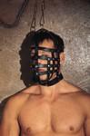 Muilkorfmasker met ophangring, verstelbaar met gespen