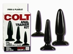 Colt Anal Trainer Kit (3 buttplugs)