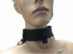 Halsband met 3 ringen, luxe uitvoering
