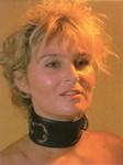 Halsband met ring, breed model