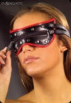 Insinuate Rush Eyemask- zwart met rode blinddoek