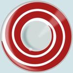 Funlenzen, HypnotEyes contactlenzen, Red Spiral