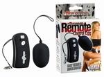 Ultra Seven Remote Control Vibratie Eitje, zwart